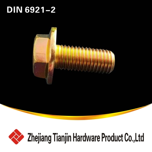 DIN 6921-2Flanged / Collared Hex Bolts